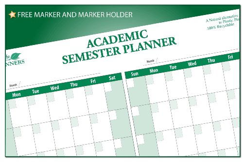 College Student's Semester Undated Calendar by PlanetSafe Planners (Image #2)