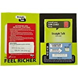 Straight talk Kit with Nano sim card for AT&T and Unlock GSM phone (4G LTE available)