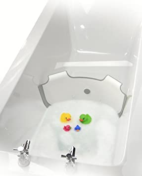 NEW ** BabyDam Bathwater Barrier | Baby Bath Tub | Converts A ...