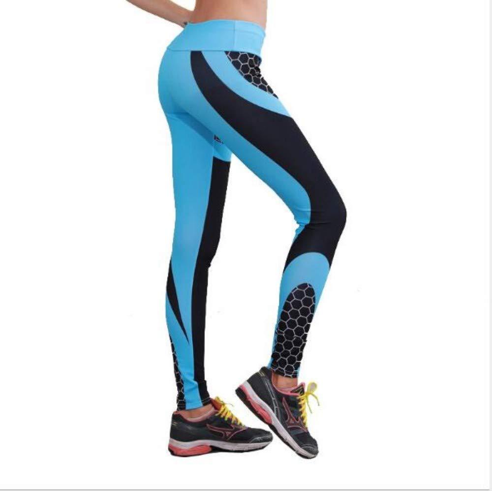 FANGNVREN Pantalones De Yoga,Moda Impresos En 3D De Nido De ...