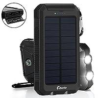Solar Charger 20000mAh Power Bank, Porta...