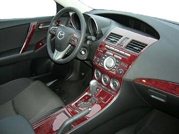 mazda 3 hatchback interior. mazda 3 mazda3 interior wood dash trim kit set 2010 2011 2012 2013 mazda hatchback interior