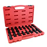 ABN Wheel Lock Removal Tool Kit Lug Nut Key Set, 16-Piece - Master Wheel Lock Key Set Lug Key Wheel Lock Removal Kit