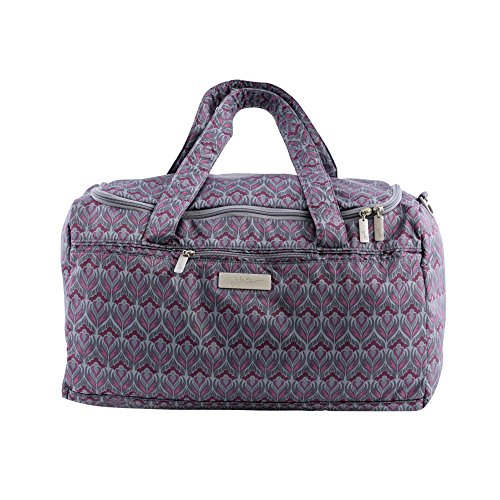 JuJuBe Starlet Large Overnight Duffle Bag, Classic Collection – Amethyst Ice