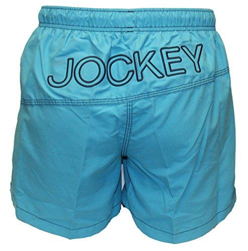 Jockey - Short de bain -  - Aucun motif Homme -  Vert - Turqoise - XL