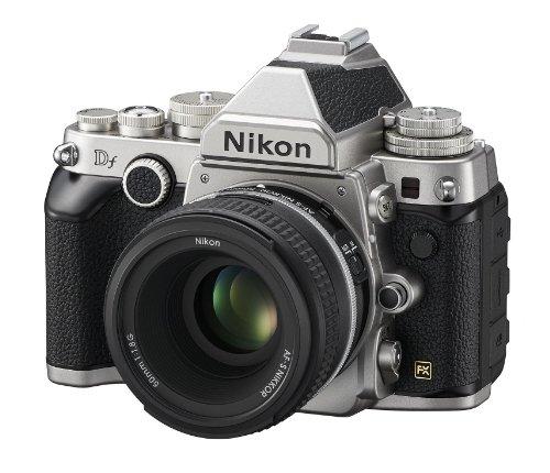 Nikon 1528 DF 16.2 MP CMOS FX-Format Digital SLR Camera (Black) with AF-S Nikkor 50mm f/1.8G Lens, 4GB Card and Camera… 2