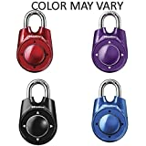 Master Lock 1500iD Speed Dial Combination Lock, Assorted Colors, 4 Pack