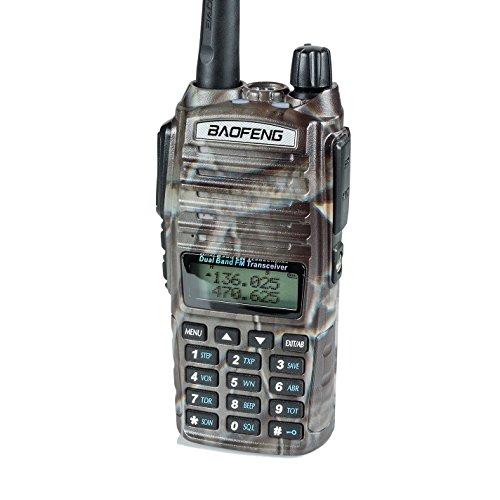 BaoFeng UV-82HP High Power Dual Band Radio: 136-174mhz (VHF) 400-520mhz (UHF) Amateur (Ham) Portable Two-Way/ (New Zenith Grande)