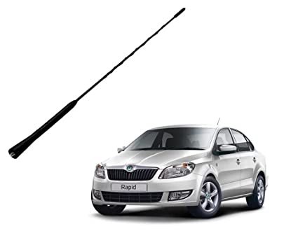 Auto Pearl Car Replacement Audio Roof Antenna For Skoda Rapid Black