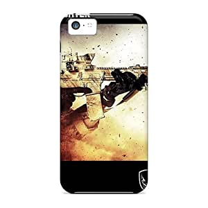 Defender Case With Nice Appearance (medal Of Honor Warfighter Military Edition) For Iphone 5c