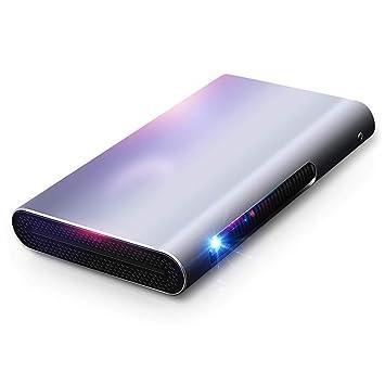 Mankvis Pro Micro proyector portátil para el hogar pequeño ...