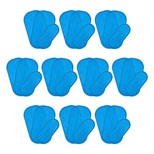 APIPI 30 Pcs/10 Sets Hip Stimulator Training Replacement Gel Sheet Pads for EMS Hips Muscle Trainer and Butt Toner, Enhancement Accessory Sexy Hips Women Buttocks Shaping Equipment