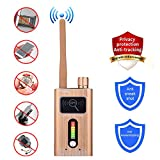 Product review for Bug Detector Anti-Spy Signal Detector Anti GPS Tracking Detector Radio Scanner Wireless Signal Alarm
