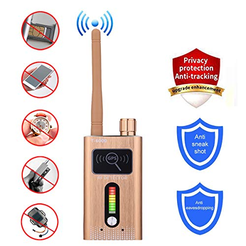 Anti-Spy Bug Detector GPS Tracking Detector Finder Radio Scanner Wireless Signal Detector Alarm