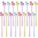 Zhanmai 16 Pieces Cartoon Animal Alpaca Pen Neutral Pens Kids Stationery Gifts for School Office Writing Supplies