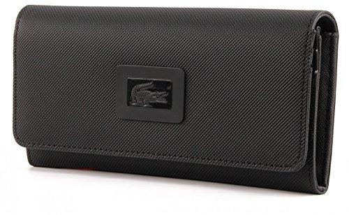 LACOSTE Women's Classic All In One Wallet Black
