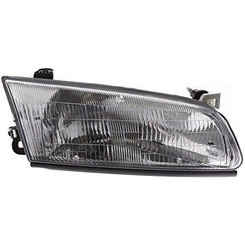 Headlight for Toyota Camry 97-99 RH Assembly Halogen w/Bulb(s) Passenger Side