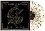 WE CAME AS ROMANS-COLD LIKE WAR EXCLUSIVE TRANSPARENT WITH GOLD SPLATTER VINYL