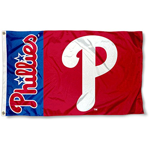 a Phillies Flag 3x5 MLB Banner ()