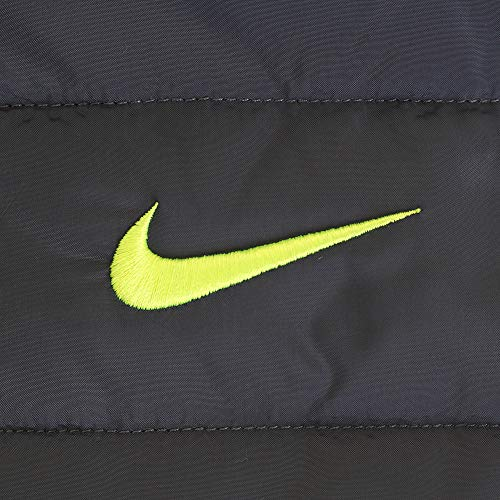 Nike Kids Boy's Quilted Jacket (Little Kids) Dark Gray 5 by Nike (Image #6)
