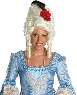 Rubies Costume Marie Antoinette Wig with Rose