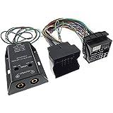 Amplificateur 2 canaux-adaptateur hIGH-lOW oPEL sEAT sKODA vW bMW fORD câbles rCA