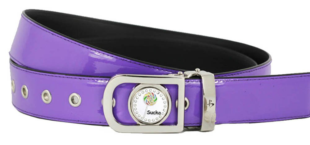 Giggle Golf Women's Ball Marker Belt Small Purple by Giggle Golf (Image #1)