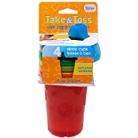 4-Count The First Years Take & Toss Spill-Proof Sippy Cups