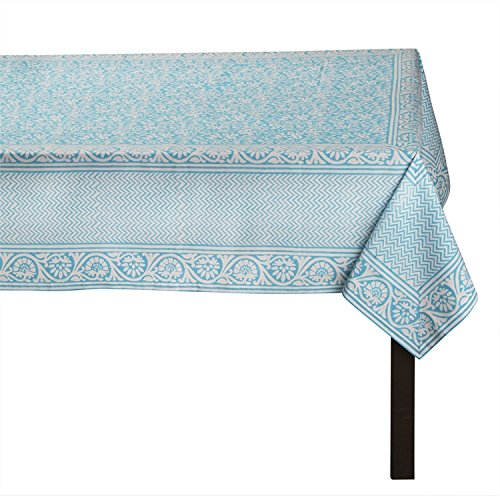 (TAG - Artisan Block Print Tablecloth 60 x 84