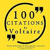 100 citations de Voltaire |  Voltaire