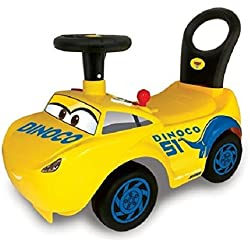 Kiddieland Disney Pixar Cars 3 My First Cruz Kids Sound Activity Ride-on With Interactive Dashboard, Excellent for Development of Cognitive, Motor and Pretend Play Skills, Great Gift Idea
