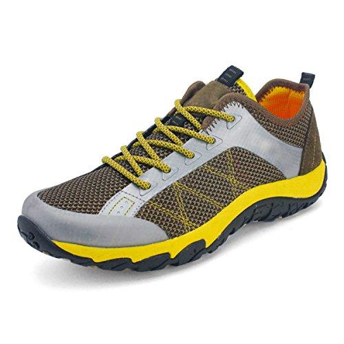 CHT Caída Al Aire Libre De Los Deportes De Invierno Primavera Hombres Y Zapatos De Ocio Aguas Arriba Yellow