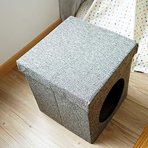 vegauto can Receive Folding Stool cat Litter cat Bed cat House cat House cat mat by vegauto