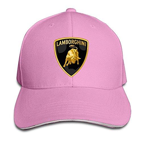 MaNeg Lamborghini Logo Sandwich Peaked Hat & (Chanel Cap)