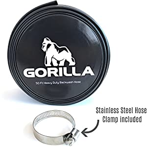 """GORILLA Backwash Hose for Swimming Pools 