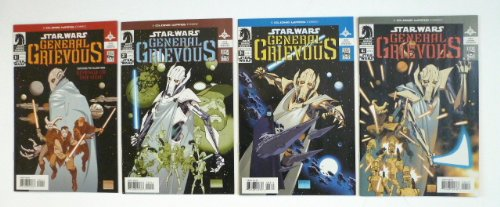 Star Wars General Grievous Comics Set of 4 Dixon, Leonardi, Pennington ()