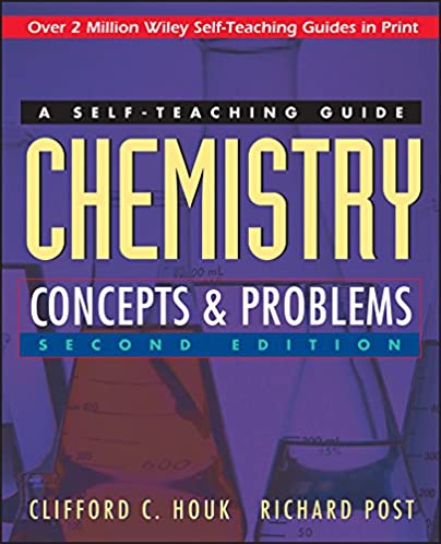 chemistry concepts and problems a self teaching guide clifford c rh amazon com Interactive Chemistry Experiment Static Chemistry