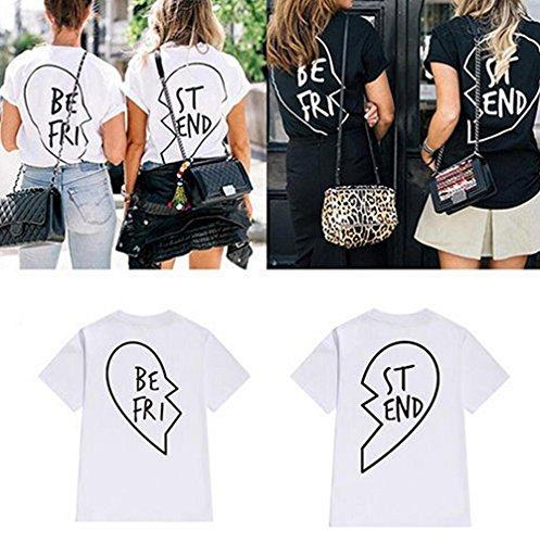 JWBBU Mujeres Camiseta Manga Corta Con Cuello Redondo Personalizar Camisetas Cortas Personalizadas Mujer Baratas Divertidas Blanco-BE
