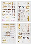 Bachelorette Party Tattoos - Bachelorette Party Favors, Decorations & Supplies by Sterling James Co. - Girl's Night Out Temporary Flash Tattoos