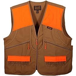 Gamehide Switchgrass Upland Field Bird Vest (Marsh Brown/Orange, X-Large)