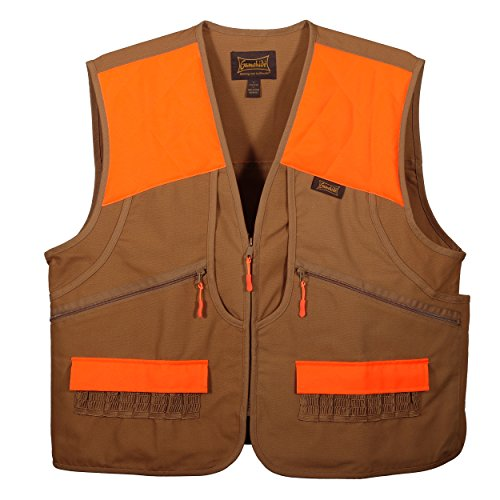 (Gamehide Switchgrass Upland Field Bird Vest (Marsh Brown/Orange, Large))