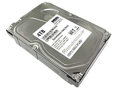 MaxDigitalData 4TB 64MB Cache 5900PM SATA 6.0Gb/s 3.5 Internal Surveillance CCTV DVR Hard Drive (MD4000GSA6459DVR) - w/2 Year Warranty
