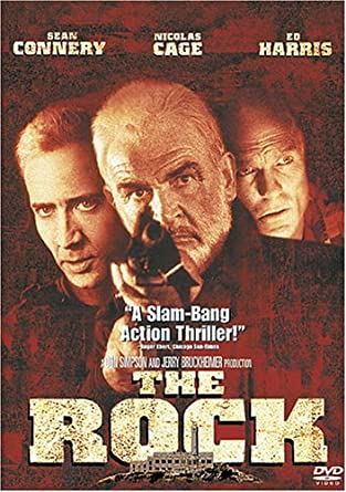Amazon com: The Rock: Sean Connery, Nicolas Cage, Ed Harris