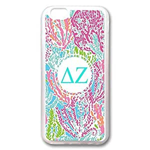 Andre-case TPU Rubber case cover for iPhone 6 inch,iPhone 5 5s case cover Transparent With monogram Colorful Floral flowers Logo design vDaRBONx5kn