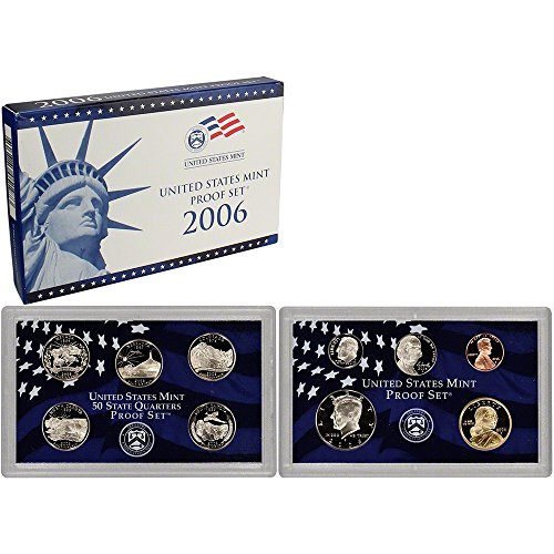 2006 S US Mint Proof Set OGP - Sacagawea Value Dollar