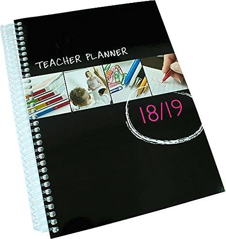 School Planner Company Planificateur /à spirales pour enseignants 2019-2020 Choix de tailles et de structure de le/çon A5-6 Period