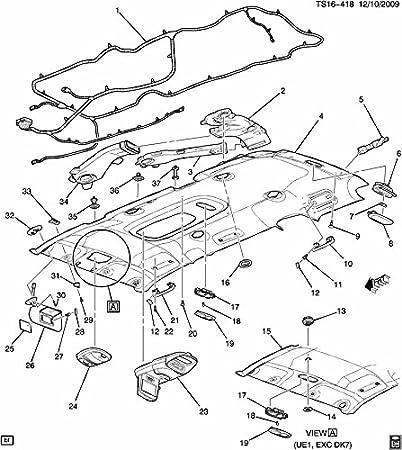 Amazon Com 2005 2012 Gm Ac Vent Air Deflector Light Opel Color
