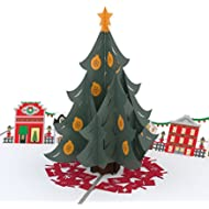 [Sponsored]Lovepop Christmas Tree Village Pop Up Christmas Card, 3D Card, Holiday Card