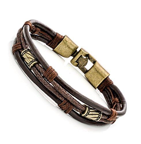 bliqniq-mens-bracelets-leather-brown-braided-rope-bracelet-bangle-size-85