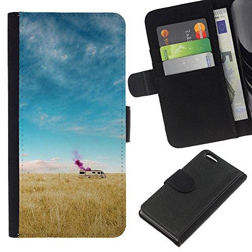 Funny Phone Case // Cuir Portefeuille Housse de protection Étui Leather Wallet Protective Case pour Apple Iphone 5C /Chambres de rupture/
